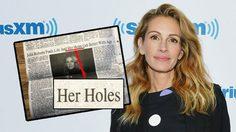 หนังสือพิมพ์ท้องถิ่น ตั้งใจจะชม จูเลีย โรเบิร์ต แต่ดันพิมพ์ผิด ความหมายเปลี่ยนซะงั้น!!
