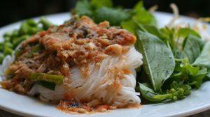 สูตร ขนมจีนน้ำยาป่า  เมนูอร่อยแบบนี้่ทำกินเองได้