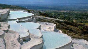 ปามุกคาเล (Pamukkale) มหัศจรรย์ ปราสาทปุยฝ้าย แห่ง ตุรกี