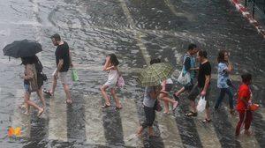 อุตุฯ เผย ประเทศไทยฝนฟ้าคะนองหลายพื้นที่ กทม.ฝนตก 60%