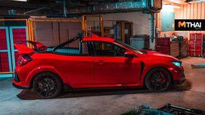 Civic Type R คัสตอมสุดมันส์ในชื่อ Project P เปลี่ยนสปอร์ตเป็นรถกระบะ