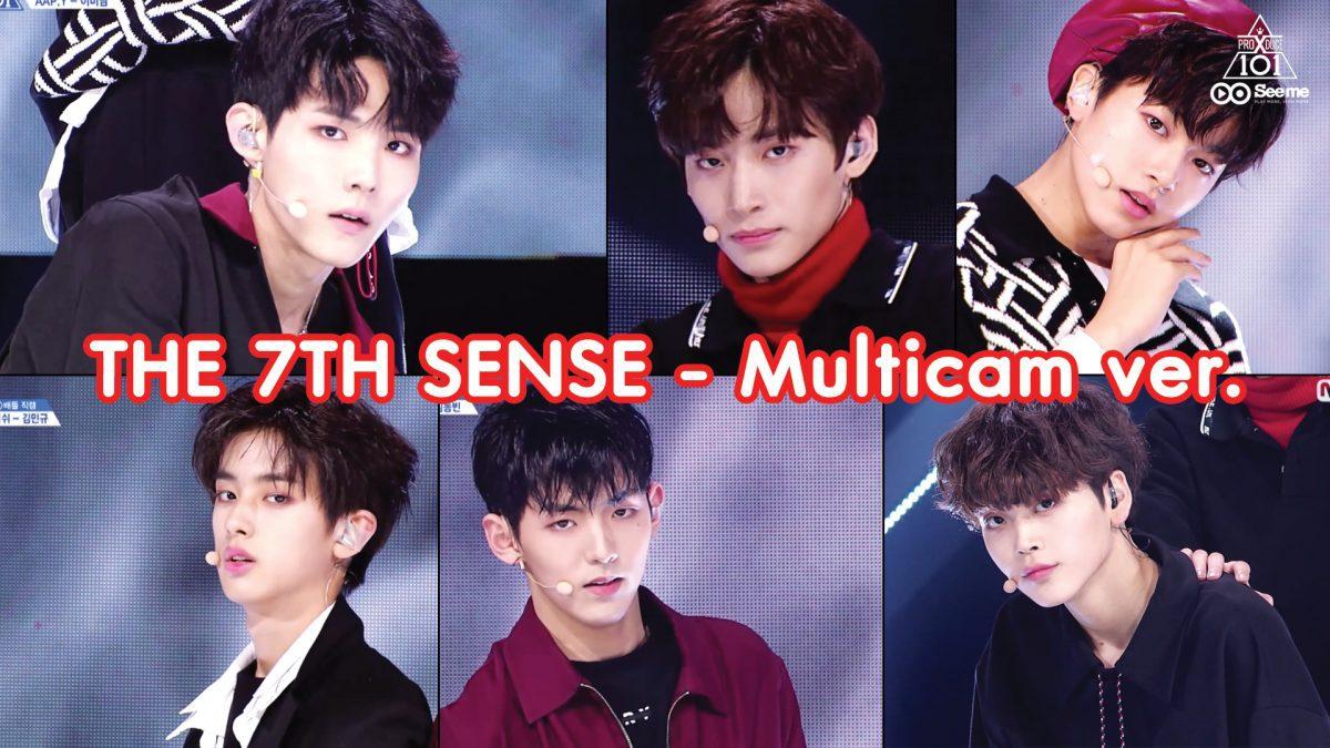 PRODUCE X 101ㅣวีดีโอ 1:1 - NCT U ♬THE 7TH SENSE (Multicam ver.) การแข่งขันรอบ Group Battle