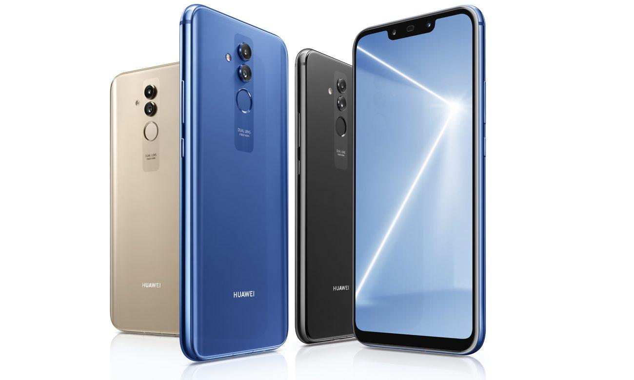 สีของ Huawei Mate 20 Lite