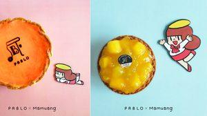 PABLO X MAMUANG ชีสทาร์ตรสมะม่วงรสชาติกลมกล่อม