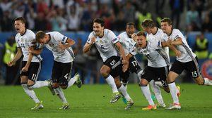 อินทรีเหล็กแม่นกว่า! เยอรมัน ดวลจุดโทษดับ อิตาลี 6-5 ทะลุตัดเชือก ยูโร 2016