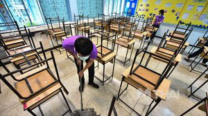 โรงเรียนสังกัด กทม. จัด Big Cleaning เตรียมเปิดการเรียนการสอน