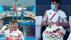 เป็นเกย์ มีลูกชาย และรักการถักนิตติ้ง เรื่องราวของ Tom Daley นักกระโดดน้ำเหรียญทองโอลิมปิก ที่ทั่วโลกจับตา