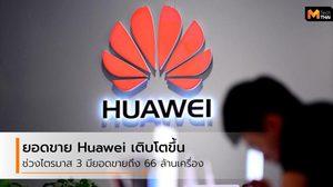 Huawei ผู้ผลิตสมาร์ทโฟนอันดับต้นๆ มีอัตราการเติบโตในไตรมาส 3 ของปี 2019