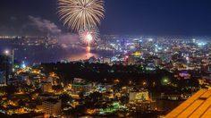 เทศกาลพลุนานาชาติ เมืองพัทยา 2018