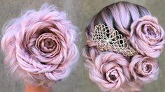 แต่งทรงผมเจ้าสาวให้สวยสะพรั่งกับ ทรงดอกกุหลาบ สุดโรแมนติก