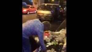 โซเชียลยกนิ้ว! คลิปฝรั่งเก็บขยะในไทย หลังพบล้นเกลื่อนถนน