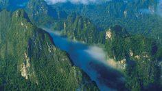 อุทยานแห่งชาติเขาสก แหล่งธรรมชาติใหญ่สุดในภาคใต้