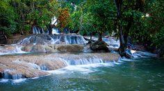 น้ำตกวังก้านเหลือง โอเอซิสแห่งลพบุรี จากสระน้ำผุดธรรมชาติ