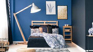 25 ไอเดียแต่ง ห้องนอนสีฟ้า จัดไปทุกโทนฟ้าให้สาแก่ใจ