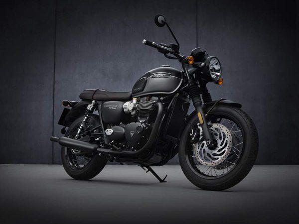 2021 Triumph Bonneville T120 Black