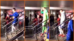 โดนเมิน! แฟนบอลสิงห์บลูปฏิเสธจับมือ เกปา เพียงคนเดียวหลังเกม คาราบาว คัพ (คลิป)