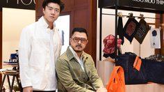 เชา ชวลิต ชวนมิกซ์แอนด์แมทช์เสื้อผ้าผู้ชายสไตล์ MOO