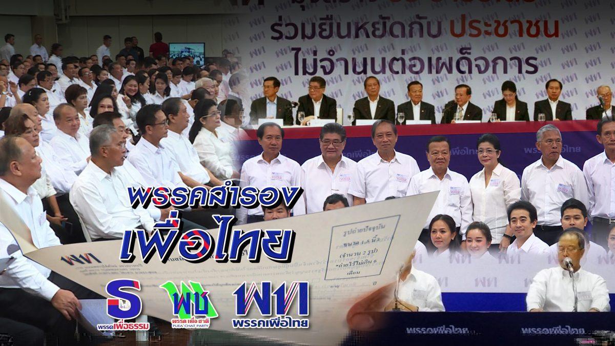 พรรคสำรองเพื่อไทย 09-10-61