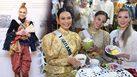 อนุรักษ์ความเป็นไทย! มิสยูนิเวิร์ส 2018 ใส่ชุดไทยสมัยรัชกาลที่ 5 เที่ยวงานอุ่นไอรัก