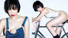 กาอิน ตอกย้ำความเซ็กซี่สุดร้อนแรงในนิตยสาร GQ Korea