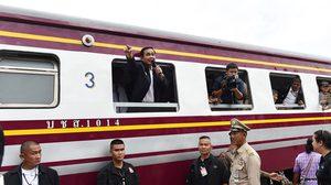 นายกฯ ตรวจโครงการก่อสร้างรถไฟรางคู่ ช่วงลพบุรี-ปากน้ำโพ