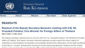 UNกังวลไทยจำกัดสิทธิแสดงออกประชามติ