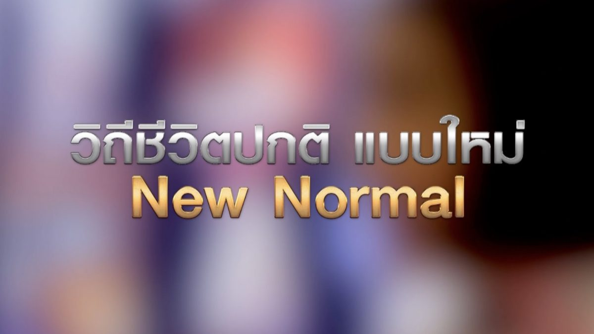 วิถีชีวิตปกติ แบบใหม่ New Normal 29-04-63