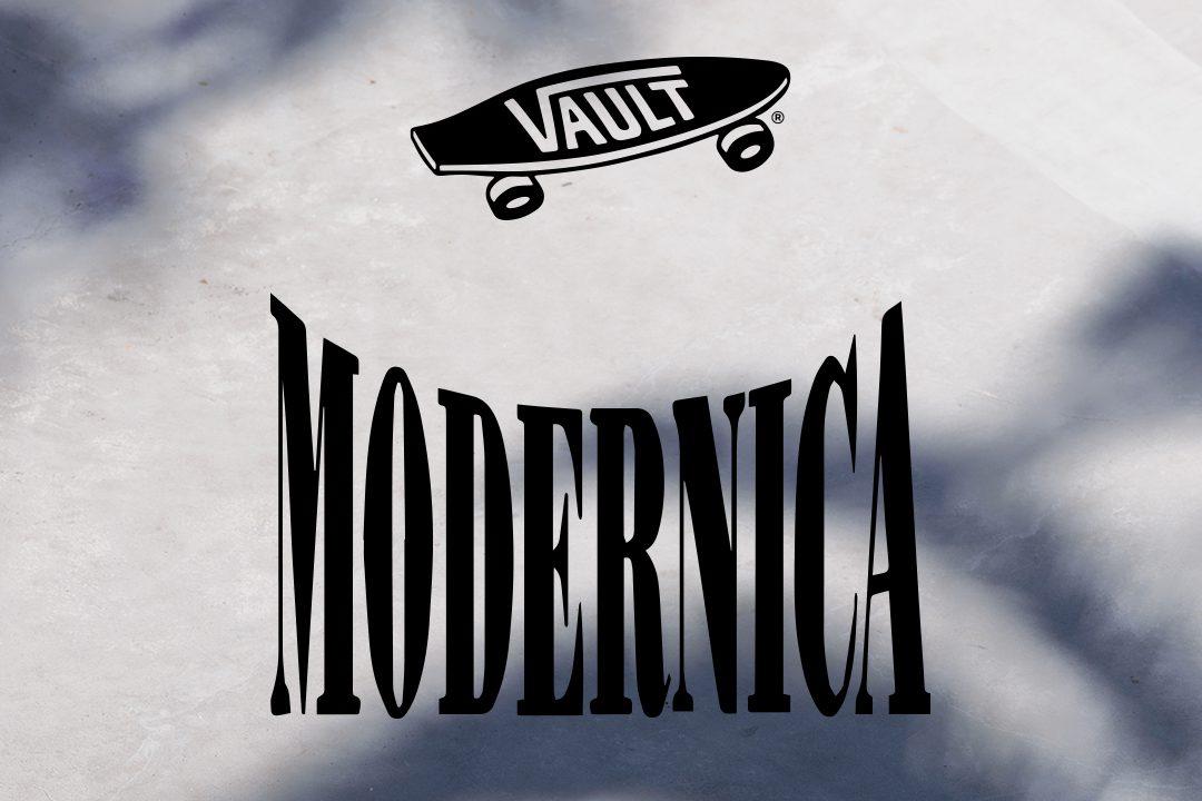 Modernica x Vans Vault