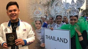 ครูพิช นำทีมเด็กไทยคว้าอันดับ 3 ชุดประจำชาติ WCOPA