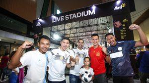 อาดิดาส จัดงานรับ ฟุตบอลโลก 2018 ชมสดผ่านจอยักษ์ หน้าร้านอาริฯ สยามสแควร์