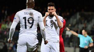 ผลบอล : ตราไก่ ฉายแสง!! ชิรูด์ ซัดเบิ้ลพา ฝรั่งเศส บุกเชือด ลักเซมเบิร์ก 3-1 รั้งฝูง คัดบอลโลก