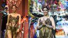 เปิดตัว ผีตาโขน ชุดประจำชาติ มิสยูนิเวิร์สไทยแลนด์ 2019 หน้ากากทำจากพลาสติกเหลือใช้