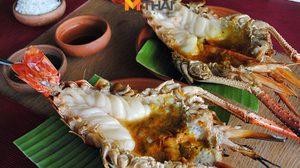 ร้านอาหาร Vapor กุ้งเผาเตาถ่าน น้ำจิ้มรสเด็ด ย่านปากเกร็ด นนทบุรี