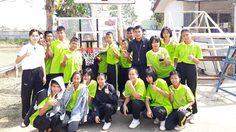 Mono Basketball Dream ปลุกฝันยัดห่วงเยาวชนไทย มอบหน้าแป้นบาสฯ กุสุมาลย์วิทยาคม จ.สกลนคร