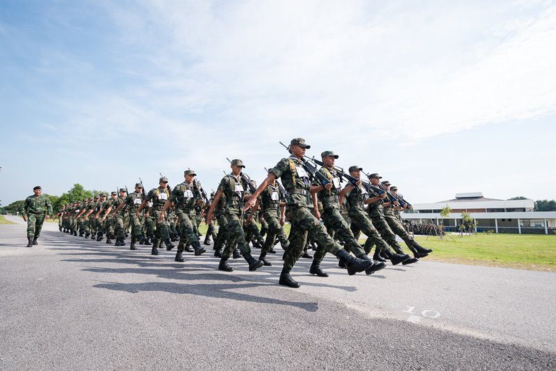 เปิดรับสมัครนักเรียนนายสิบทหารบก + นายสิบเหล่าทหารราบ