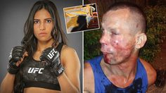 เล่นผิดคน! โจรกระจอกโดนนักสู้สาว UFC เอาคืนจนน่วมฐานใช้ปืนกระดาษปล้น