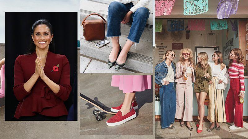 ใครว่าใส่แต่ของแพง!! เมแกน มาร์เคิล กับ รองเท้าสวยใส่สบาย ราคาก็ไม่แพง