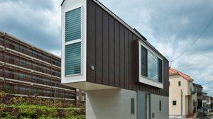 แคบแต่น่าอยู่มาก! บ้าน Hori no Uchi บ้านสามเหลี่ยม ทรงแปลก ใน ญี่ปุ่น