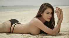 แอ้ปเปิ้ล จริยา สาวผิวแทนสุดเซ็กซี่ มาอวดหุ่นสวยๆ ในนิตยสาร Playboy