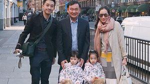 'เอม พินทองทา' โพสต์ IG พาครอบครัวพบ 'ทักษิณ' ที่ อังกฤษ