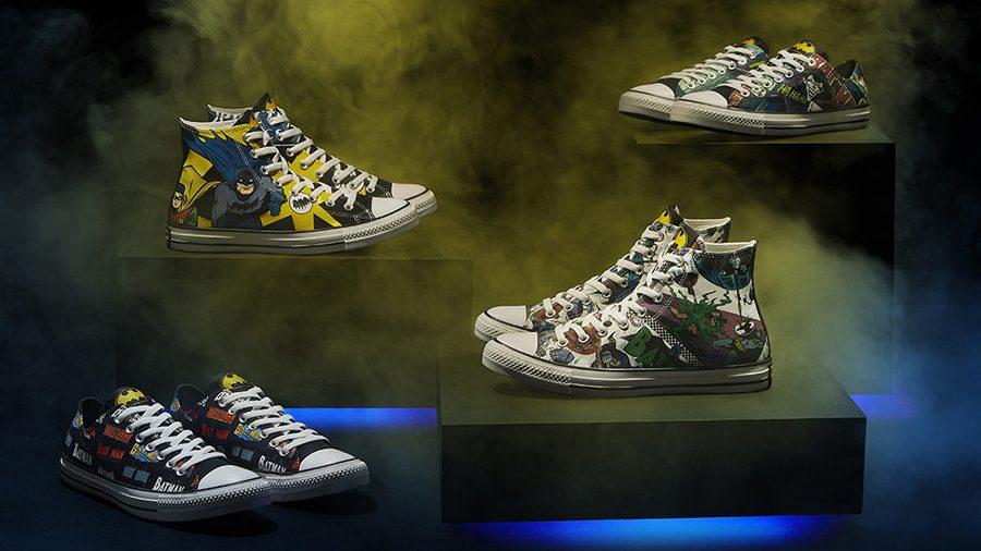Converse ฉลอง 80 ปี Batman เปิดตัวรองเท้าคอลเลคชั่นพิเศษ 6 แบบ!!