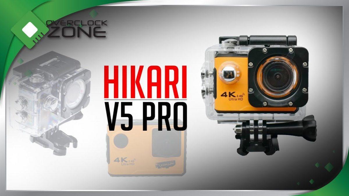 รีวิว HIKARI V5 Pro : 4K Ultra HD Action Camera