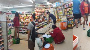 เซเว่นแจงปมดราม่า พนักงานนั่งล้อมวงกินข้าวกลางร้าน-เหยียบลังใส่อาหาร