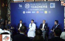 """เซนต์คาเบรียลจัดวิ่ง """"SG Run 2018"""" สมทบทุนครูเกษียณ"""