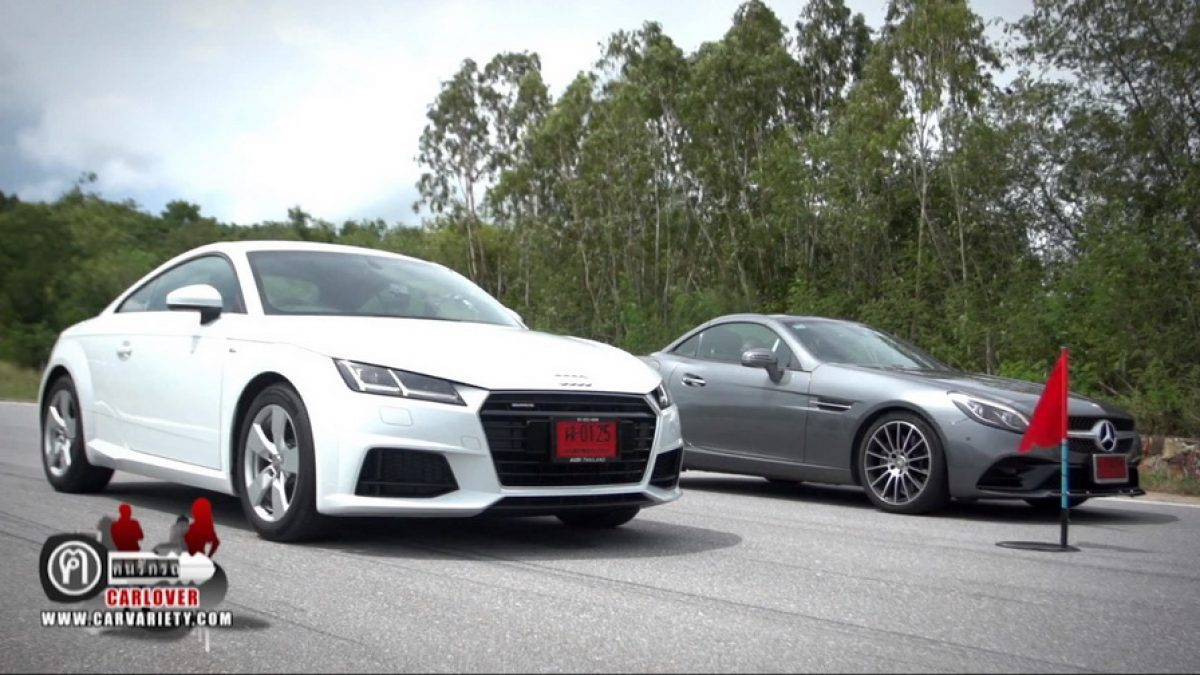 Audi TT vs Benz SLC 300 EP.1