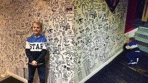 The Doodle Boy หนูน้อยวัย 9 ขวบ กับพรสวรรค์ด้าน ศิลปะ ที่ผู้ใหญ่ยังต้องอิจฉา