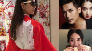 มิน พีชญา กับเสื้อผ้าสีแดง – ขาว บอกเลยสวยไฮโซสุดๆ