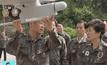 ผู้นำเกาหลีใต้ตรวจหน่วยทหารพร้อมตอบโต้เกาหลีเหนือ