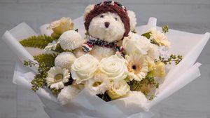 ภาพช่อดอกไม้น่ารักๆ แสดงความยินดีในโอกาสต่างๆ