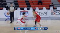 Singapore vs. Malaysia Q1 - 5th SEABA Stankovic Cup 2016 THAILAND May 26, 2016